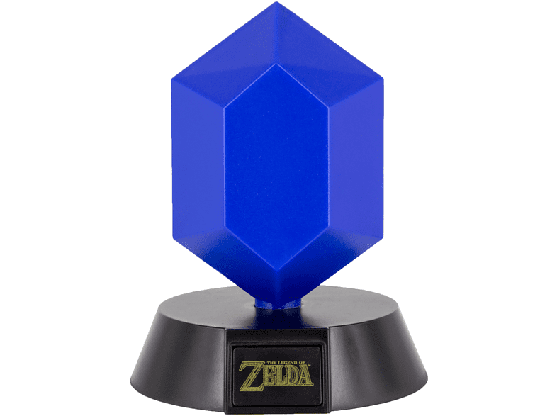 PALADONE PRODUCTS Icon Licht: Zelda - Blauer Rupie Lampe, Mehrfarbig
