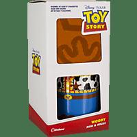 PALADONE PRODUCTS Toy Story Woody Becher und Socken Set Tassenset, Mehrfarbig