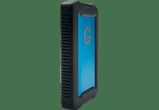 G-TECHNOLOGY ArmorATD™ Festplatte, 2 TB HDD, 2,5 Zoll, extern, Türkis/Schwarz