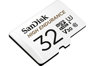 SANDISK High Endurance, Micro-SDHC Speicherkarte, 32 GB, 100 MB/s