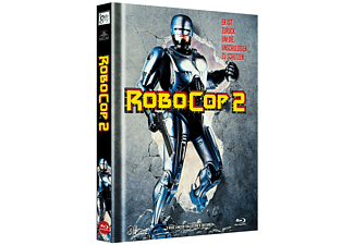ROBOCOP 2 (MEDIABOOK A/+DVD/LTD. COLL EDIT.) - (Blu-ray + DVD)