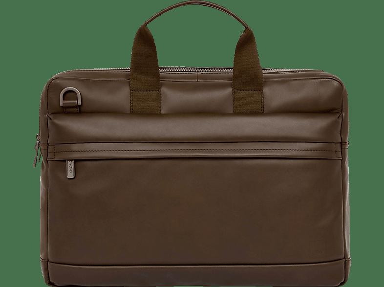 KNOMO Barbican Roscoe Notebooktasche, Aktentasche, 15.6, Braun