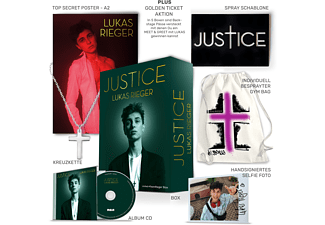 Lukas Rieger - Justice - Limited #TeamRieger Box  - (CD)