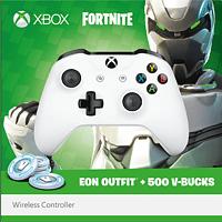 MICROSOFT Xbox Wireless Fortnite Bundle Controller} Weiß