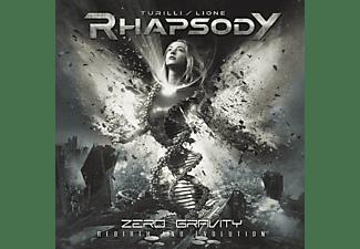 Turilli Rhapsody, Lione - Zero Gravity (Rebirth And Evolution)  - (CD)