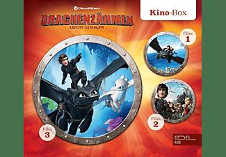 Drachenzähmen Leicht Gemacht - Drachenzähmen leicht gemacht 1-3-Kino-Box  - (CD)