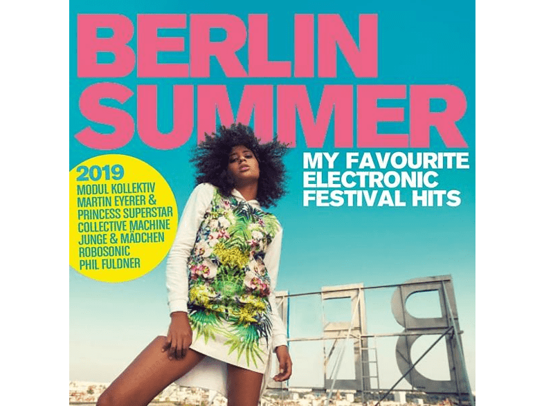VARIOUS - Berlin Summer 2019 - My Favourite Electronic Festival Hits [CD]