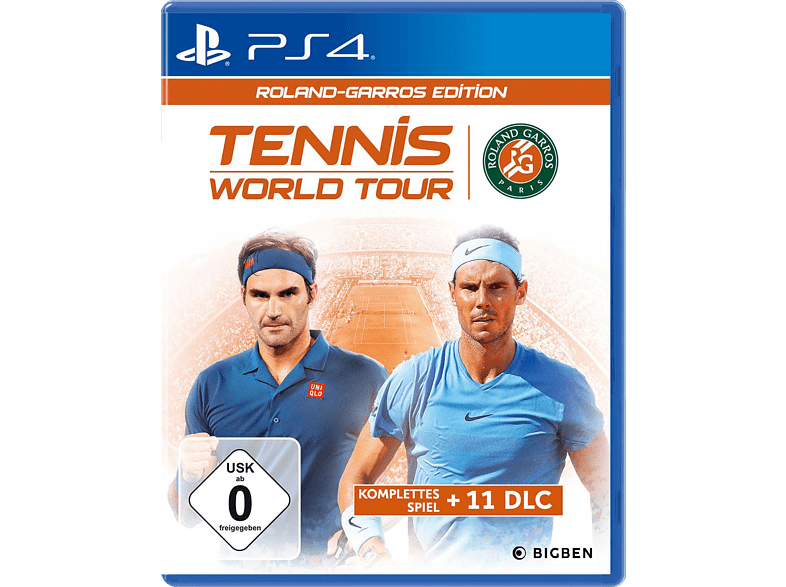 Tennis World Tour - Roland-Garros Edition [PlayStation 4]