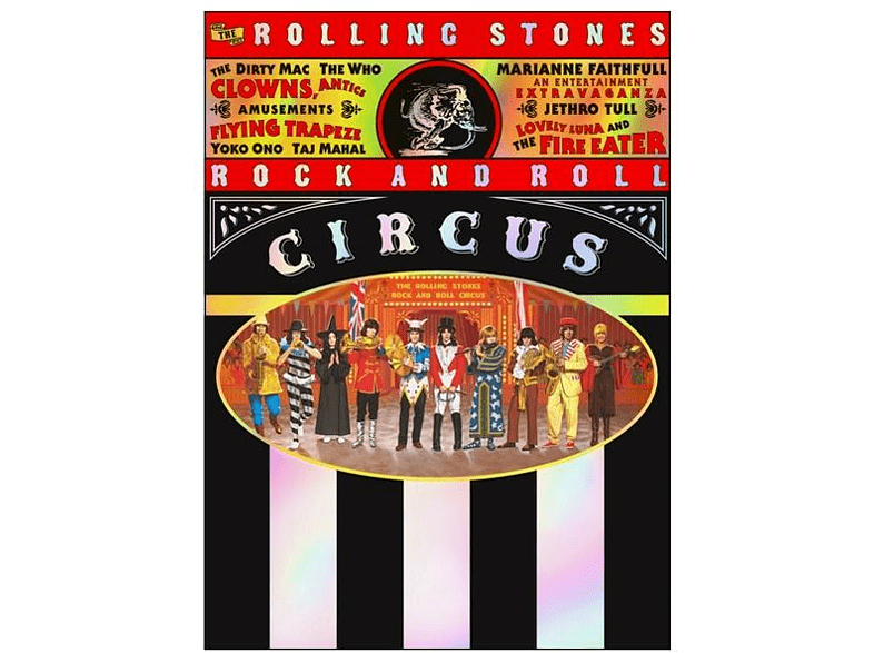 VARIOUS - Rock and Roll Circus (Limited Deluxe Edition) [CD + DVD Video]