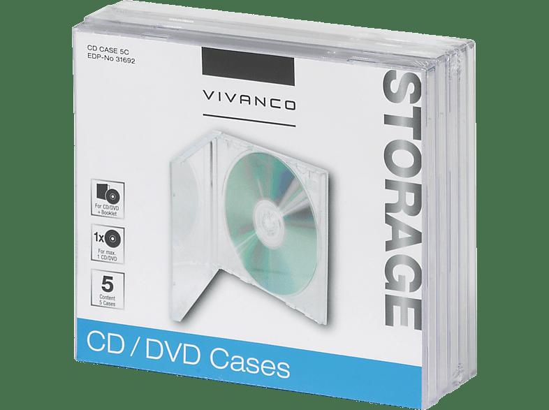 VIVANCO Jewel Case Leerhüllen