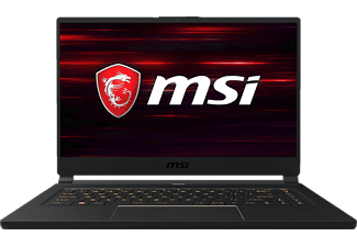 MSI GS65 9SE, Gaming Notebook mit 15.6 Zoll Display, Core™ i7 Prozessor, 16 GB RAM, 1 TB SSD, GeForce® RTX™ 2060, Schwarz