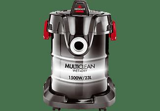 BISSELL 2026M MultiClean Wet & Dry Drum Nass-/Trockensauger, maximale Leistung: 1500 Watt, Rot/Schwarz)