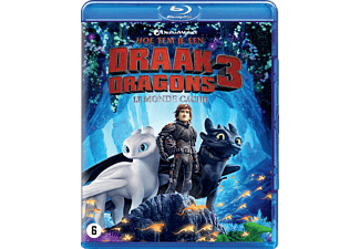 Hoe Tem Je Een Draak 3: De Verborgen Wereld - Blu-ray