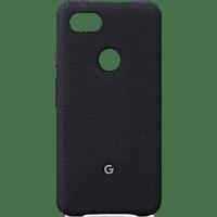 GOOGLE Case Backcover Google Pixel 3a XL Kunststoff/Stoff Graphit