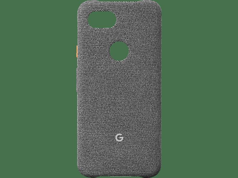 GOOGLE Case Backcover Google Pixel 3a Kunststoff/Stoff Nebel