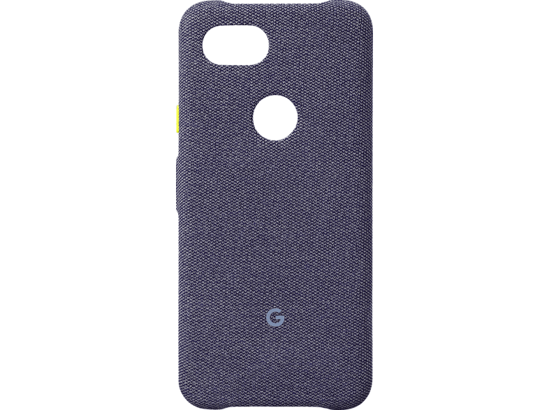 GOOGLE Case Backcover Google Pixel 3a Kunststoff/Stoff Jeansblau