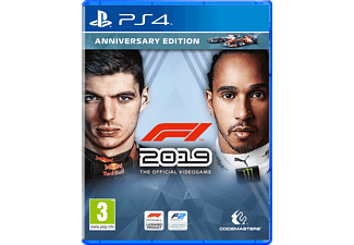 F1 2019 Anniversary Edition NL/FR PS4
