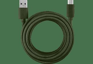 ISY IFC-1800-GN-C, Datenkabel/Ladekabel, 1,8 m, Grün