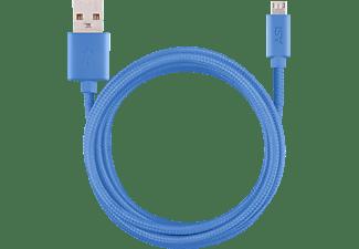 ISY IFC-1800-BL-M, Micro-USB Ladekabel, 1,8 m, Blau
