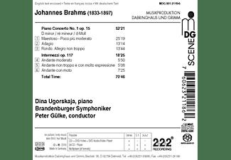 Dina Ugorskaja, Brandenburg Symphoniker - Klavierkonzert 1 op.15,Intermezzi op.117  - (SACD Hybrid)