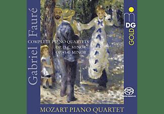 Mozart Piano Quartet - Sämtliche Klavierquartette  - (SACD Hybrid)