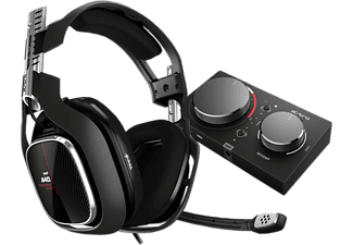 ASTRO GAMING A40 TR Headset + MixAmp Pro, Schwarz-Rot -2019- (XBox One, PC, MAC)