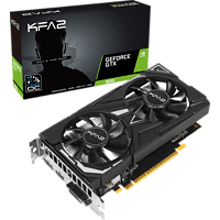 KFA2 GeForce® GTX 1650 EX OC 4 GB (65SQH8DS08EK) (NVIDIA, Grafikkarte)