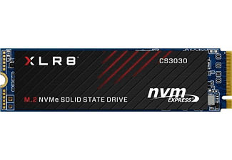 PNY SSD Festplatte XLR8 CS3030 M.2 NVMe 500 GB, M.2, intern (M280CS3030-500-RB)