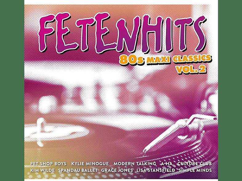 VARIOUS - Fetenhits-80s Maxi Classics Vol.2 [CD]