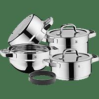WMF 07.9804.6380 Compact Cuisine Topf-Set (Cromargan®: Edelstahl Rostfrei 18/10, poliert)