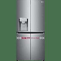 LG GML844PZKZ French Door (300 kWh/Jahr, A++, 1787 mm hoch, Edelstahl)
