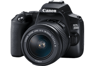 CANON EOS 250D mit Objektiv EF-S 18-55mm f3.5-5.6 III + Tasche CS-SB130 + 16GB SD-Karte (3454C010AA)