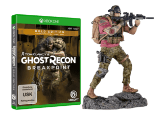 Tom Clancy's Ghost Recon: Breakpoint (Gold Edition) + Nomad Figur (ONLINE) - Xbox One