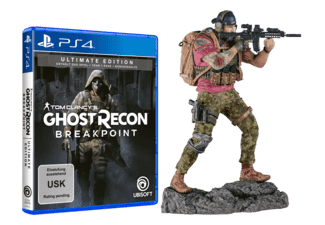 Tom Clancy's Ghost Recon: Breakpoint (Ultimate Edition) + Nomad Figur (ONLINE) - PlayStation 4