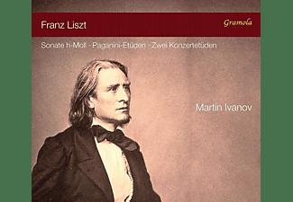 Martin Ivanov - Die h-moll Sonate und Etu den  - (CD)