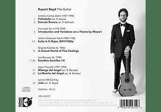 Rupert Boyd - The Guitar  - (CD)