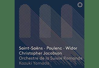 Christopher Jacobson, Orchestre De La Suisse Romande - Saint-Saëns/Poulenc/Widor  - (SACD)
