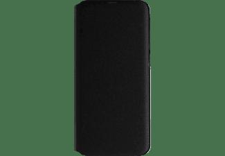 SAMSUNG Flip Cover mit Visitenkartenfach, Bookcover, Samsung, Galaxy A40, Schwarz