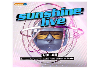 VARIOUS - Sunshine Live 68  - (CD)