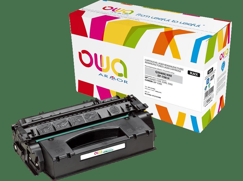 OWA Toner K12141OW ersetzt Canon (0917B002) 708H Tonerkartusche Schwarz