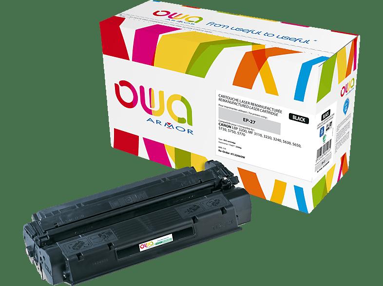 OWA Toner K12266OW ersetzt Canon (8489A002) EP-27 Tonerkartusche Schwarz