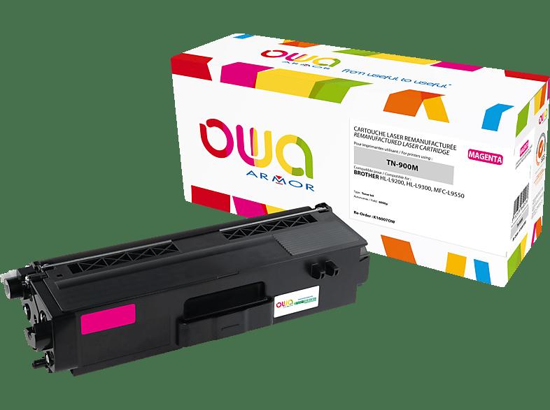 OWA Toner K16007OW ersetzt BROTHER TN-900M Tonerkartusche Magenta
