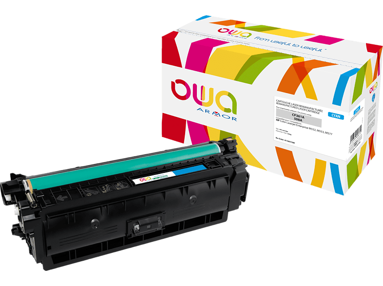 OWA Toner K15857OW ersetzt HP CF361A / 508A Tonerkartusche Cyan