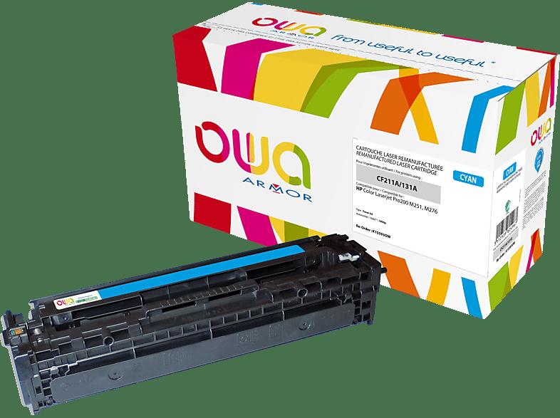 OWA Toner K15593OW ersetzt HP CF211A & Canon (6271B002) 731C Tonerkartusche Cyan