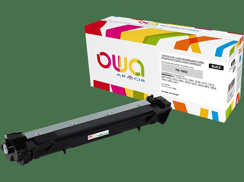 OWA Toner K15741OW ersetzt BROTHER TN-1050 Tonerkartusche Schwarz