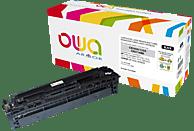 OWA K15104OW ersetzt HP CB540A & Canon (1980B002) 716BK Tonerkartusche Schwarz