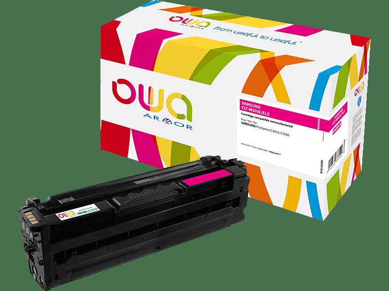 OWA Toner K18155OW ersetzt SAMSUNG CLT-M503L/ELS Tonerkartusche Magenta