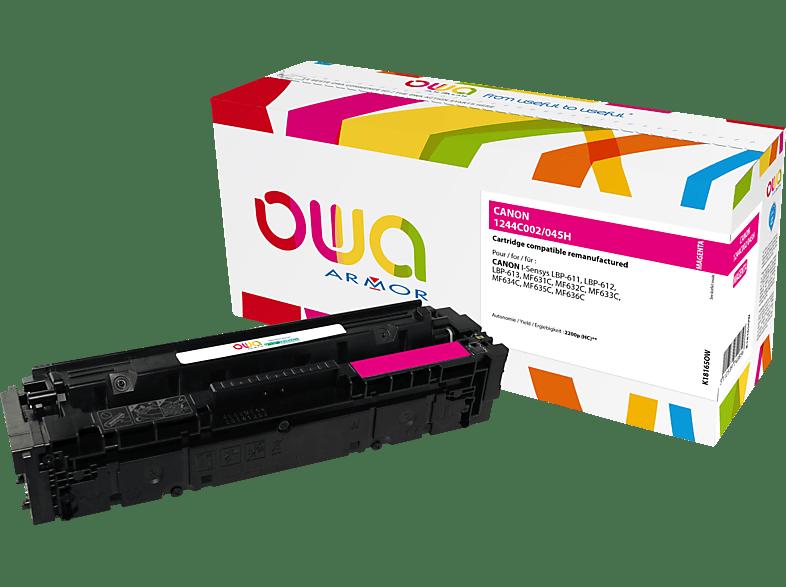 OWA Toner K18165OW ersetzt Canon (1244C002) 045H Tonerkartusche Magenta