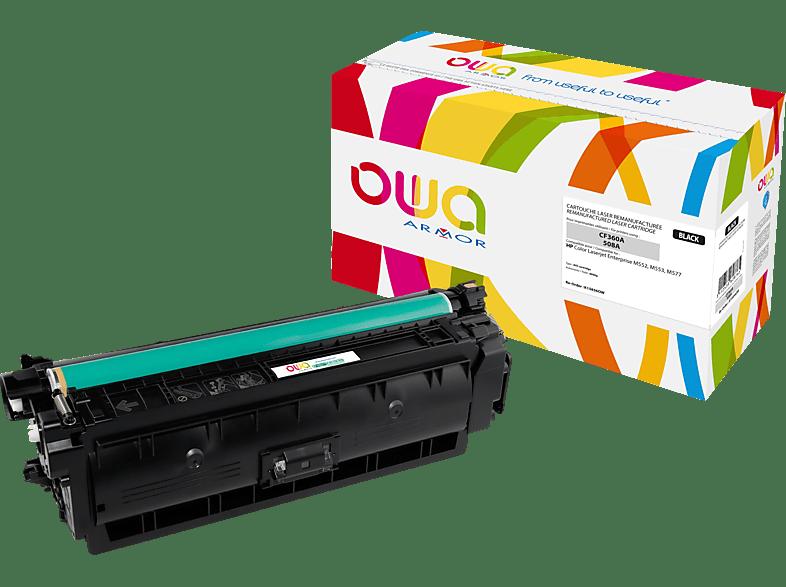 OWA Toner K15856OW ersetzt HP CF360A / 508A Tonerkartusche Schwarz