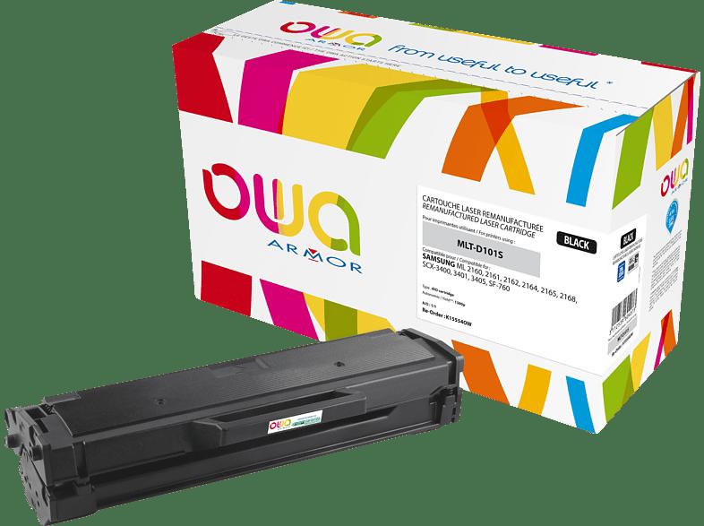 OWA Toner K15554OW ersetzt SAMSUNG MLT-D101S/ELS Tonerkartusche Schwarz